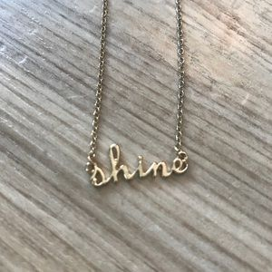 """Shine"" necklace"